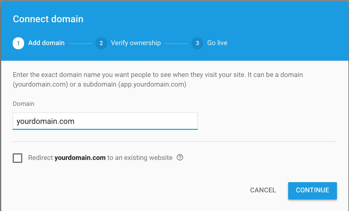 add-domain-name-in-customdomain