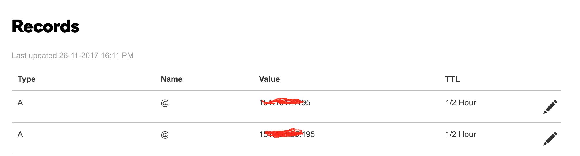 add-typeA- value-in-dns-records