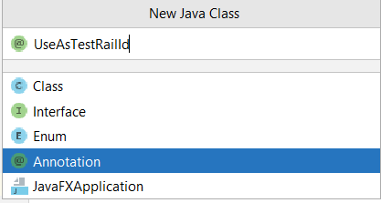 Create-Annotation-java-class