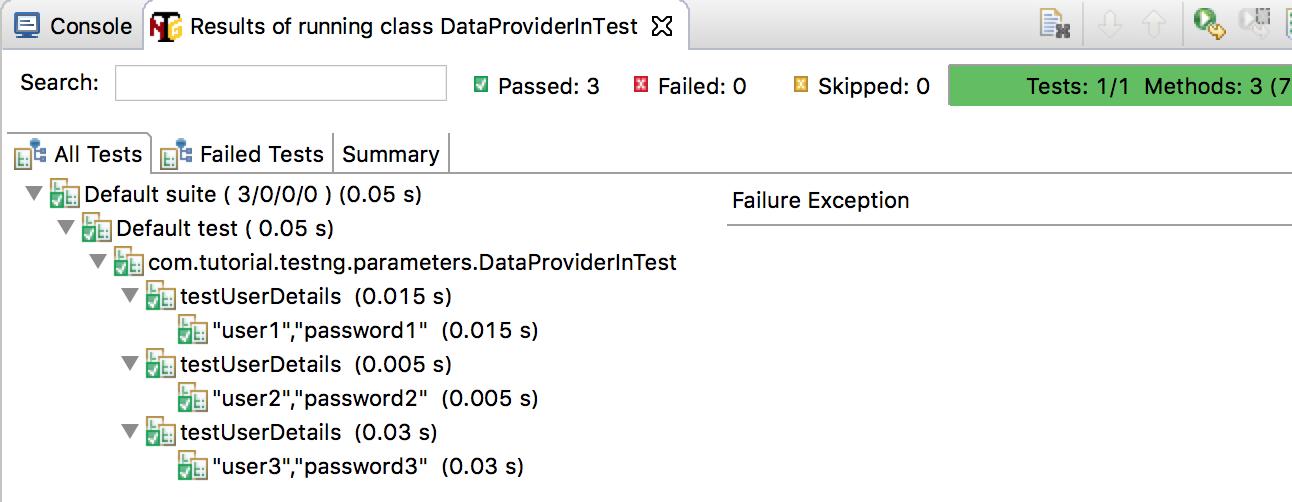 dataprovider-testng-result
