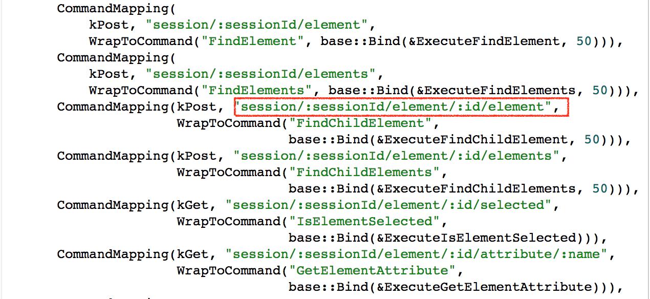 chromedriver-server-http-handler-command-mapping